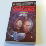 Star Trek The next generation Grounded paperback book David Bishoff
